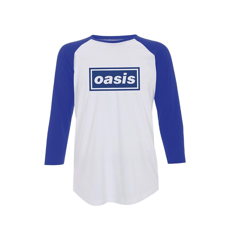 Buy Online Oasis - Oasis Baseball T-Shirt