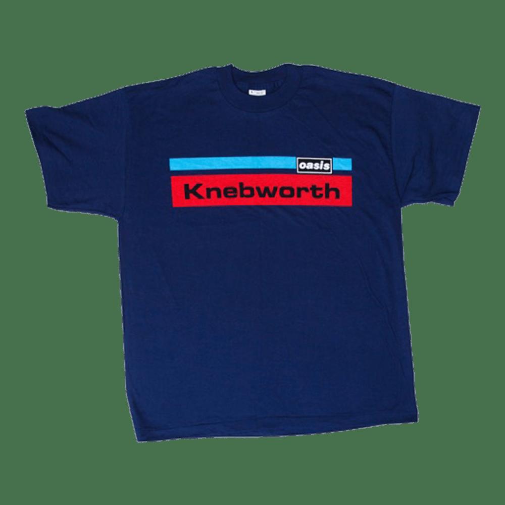 Buy Online Oasis - Knebworth T-Shirt