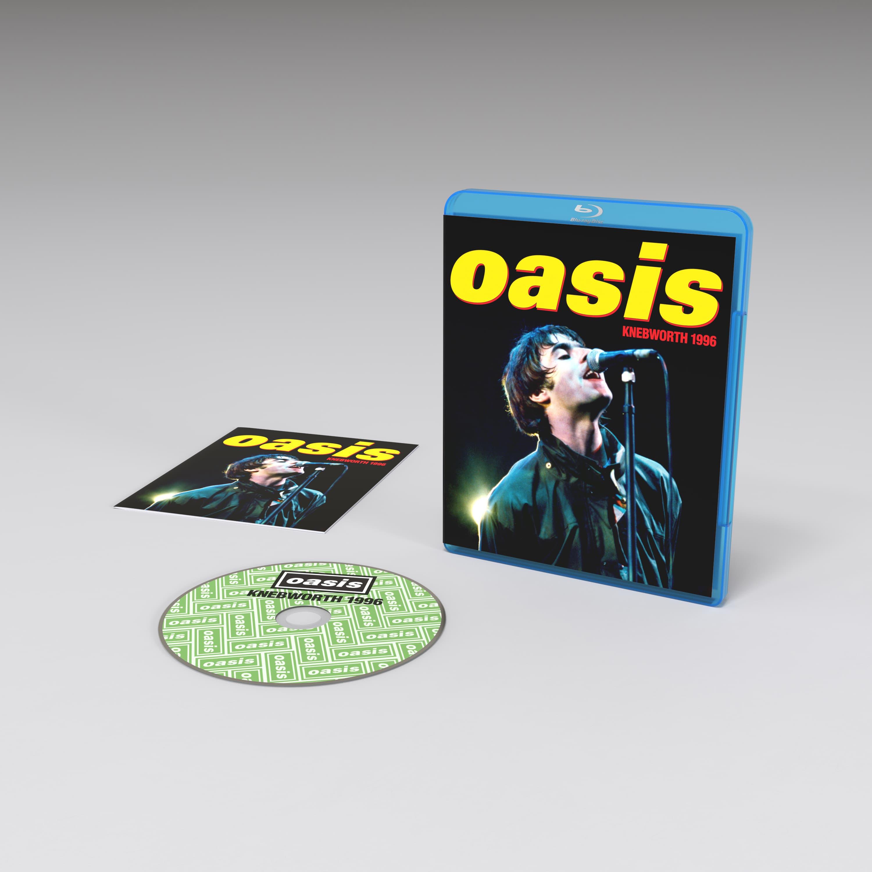 Oasis Knebworth 1996<br/>Blu Ray