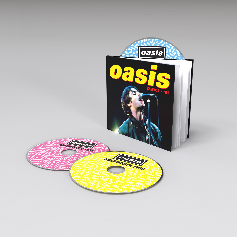 Oasis Knebworth 1996 - DLX 2CD/DVD