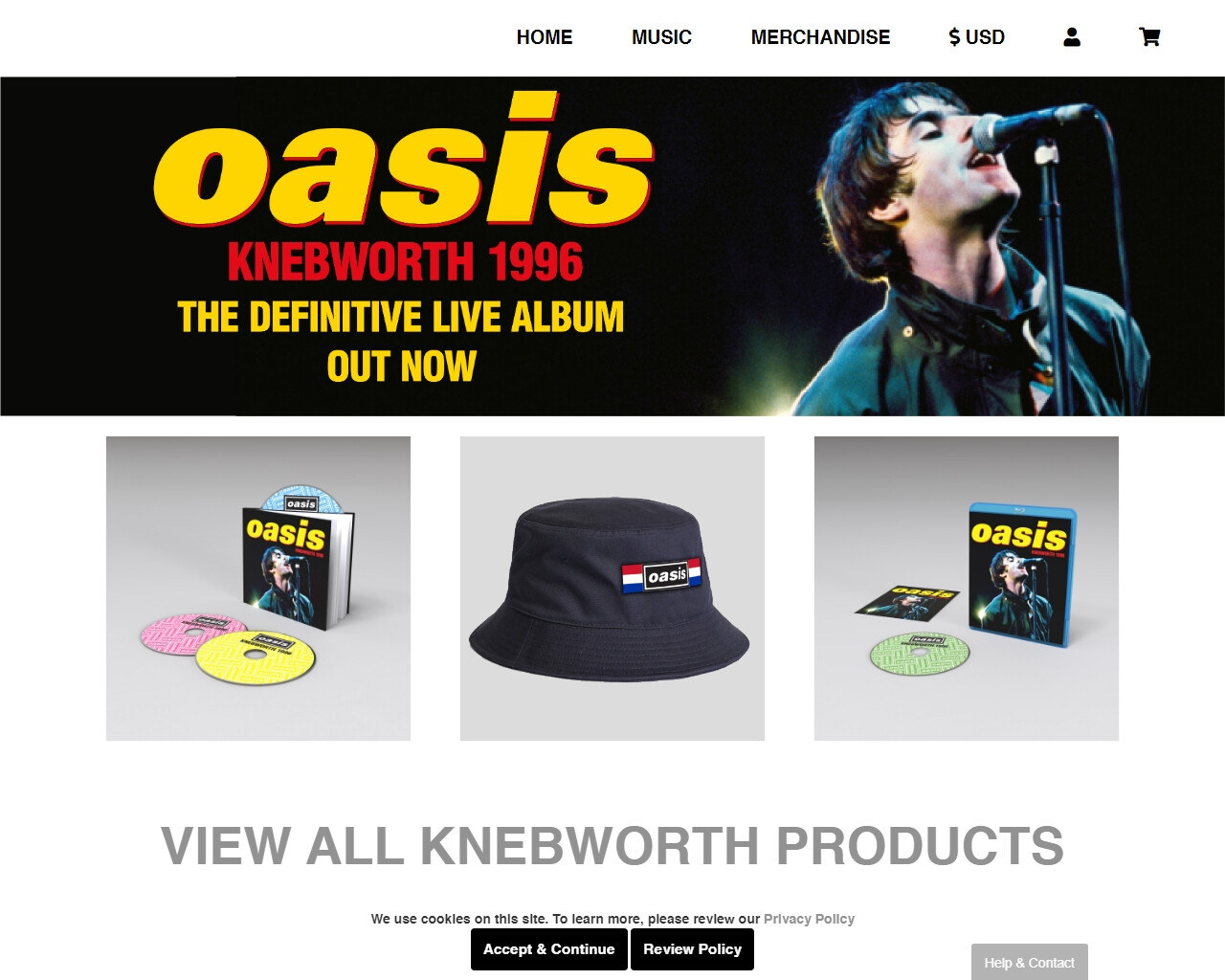 Oasis store - (What\'s The Story) Morning Glory?