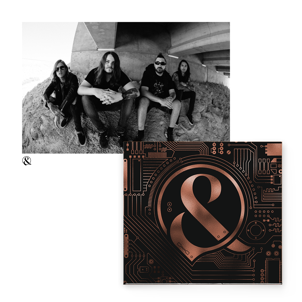 Buy Online Of Mice & Men - Defy + Signed A4 Photograph