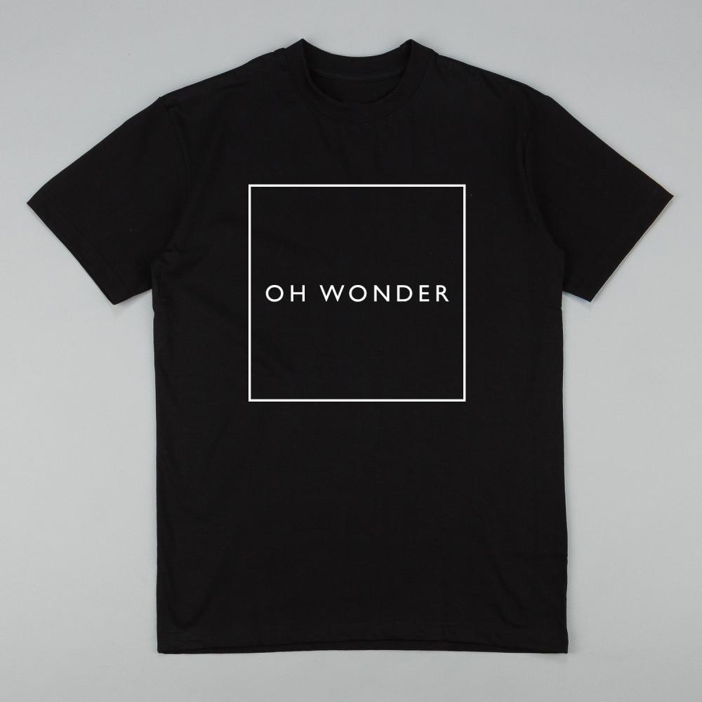 Buy Online Oh Wonder - Black Square T-Shirt