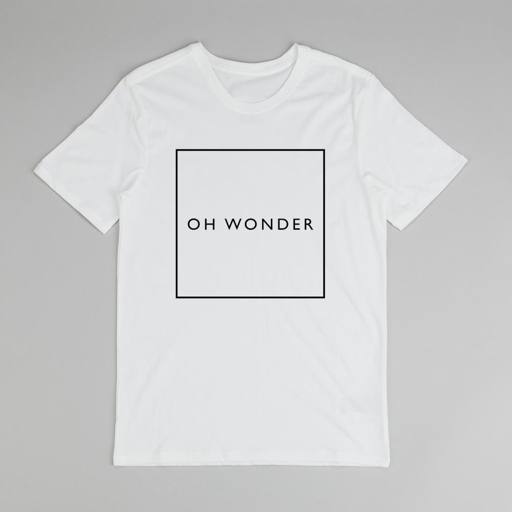 Buy Online Oh Wonder - White Square T-Shirt