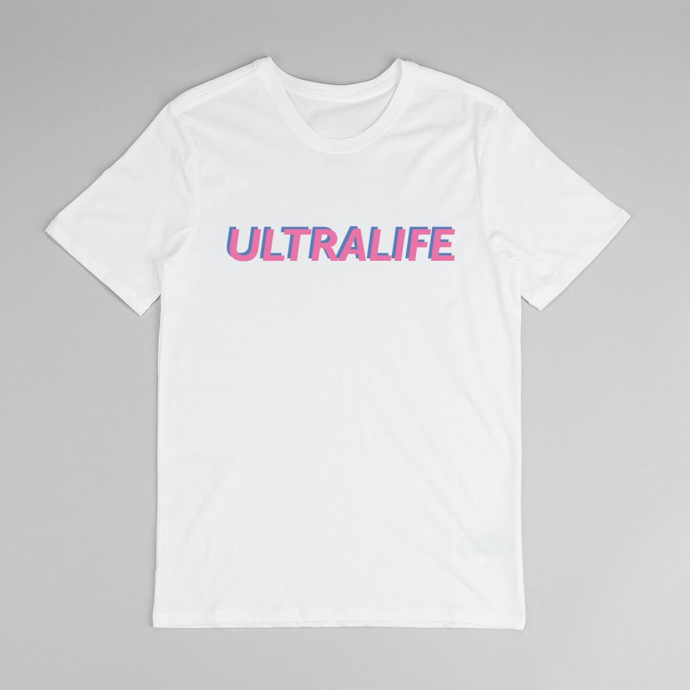 Buy Online Oh Wonder - Ultralife Text T-Shirt