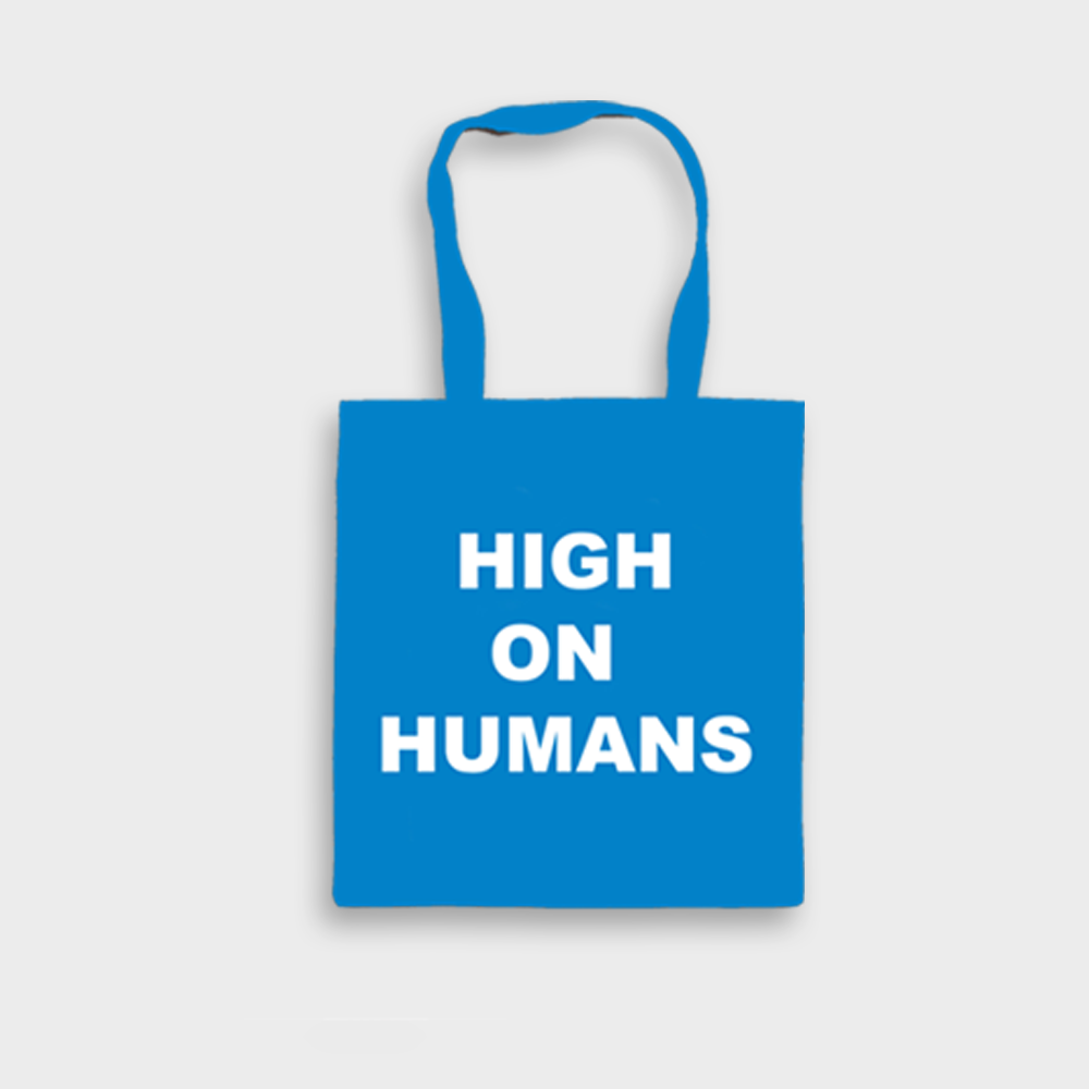 Buy Online Oh Wonder - High On Humans Tote Bag