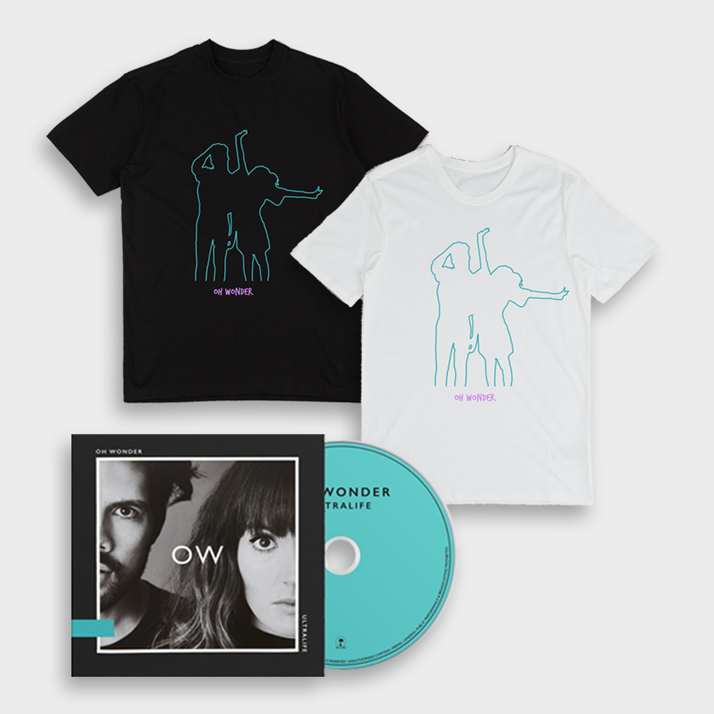 Buy Online Oh Wonder - Ultralife CD (Signed) + T-Shirt