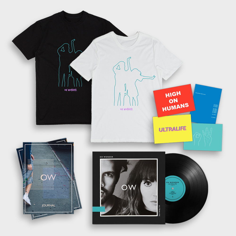 Buy Online Oh Wonder - Ultralife LP + T-Shirt + Journal + Postcards