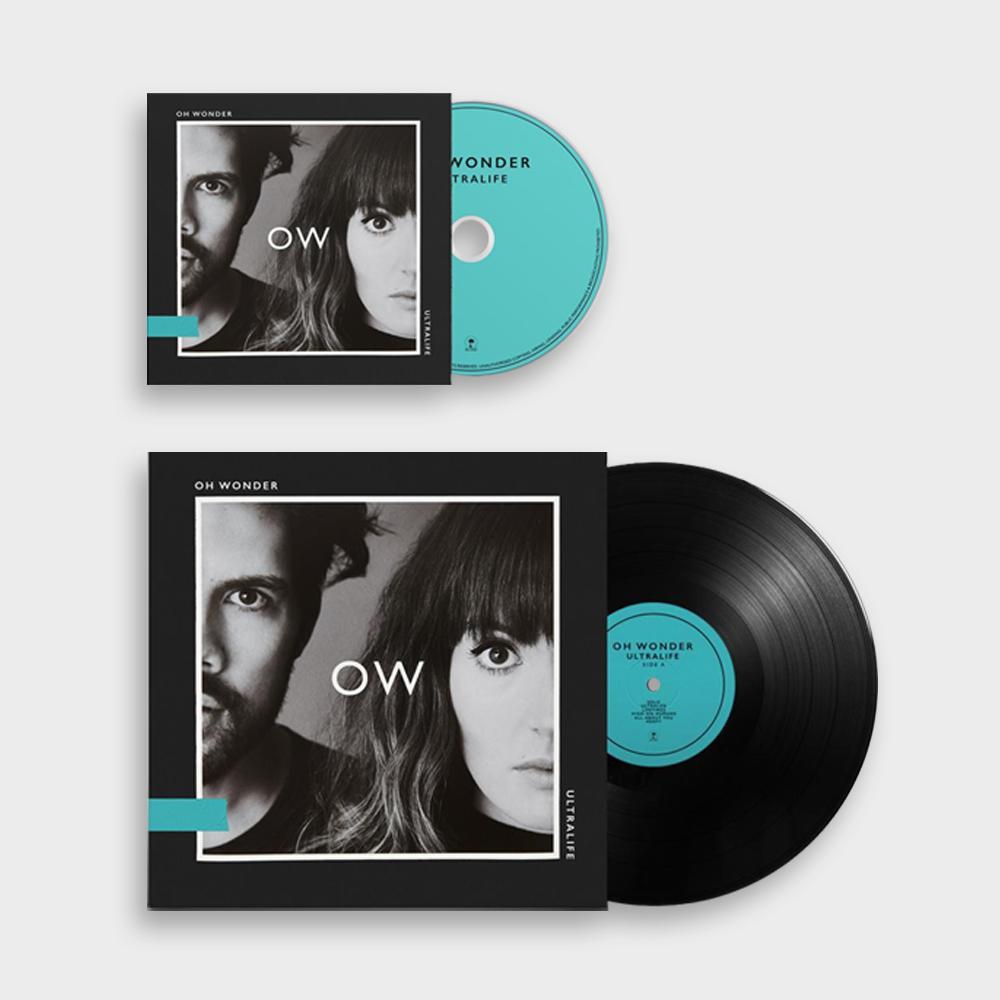 Buy Online Oh Wonder - Ultralife CD (Signed) + LP (Signed)