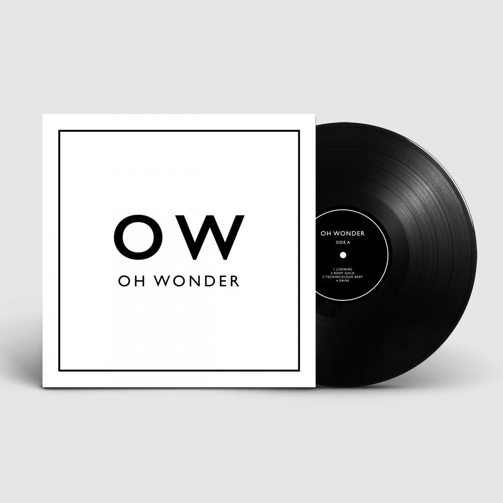 Buy Online Oh Wonder - Oh Wonder Double Vinyl LP (Signed)