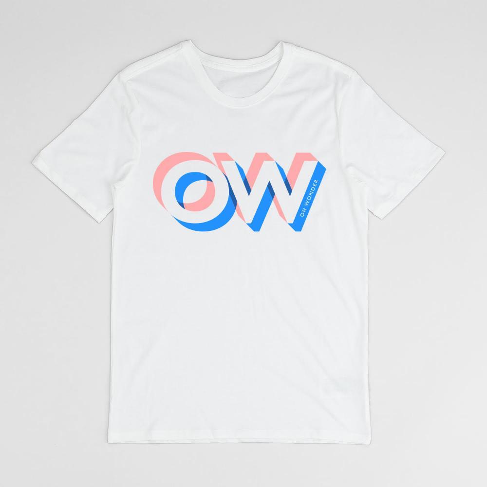 Buy Online Oh Wonder - OW Logo T-Shirt