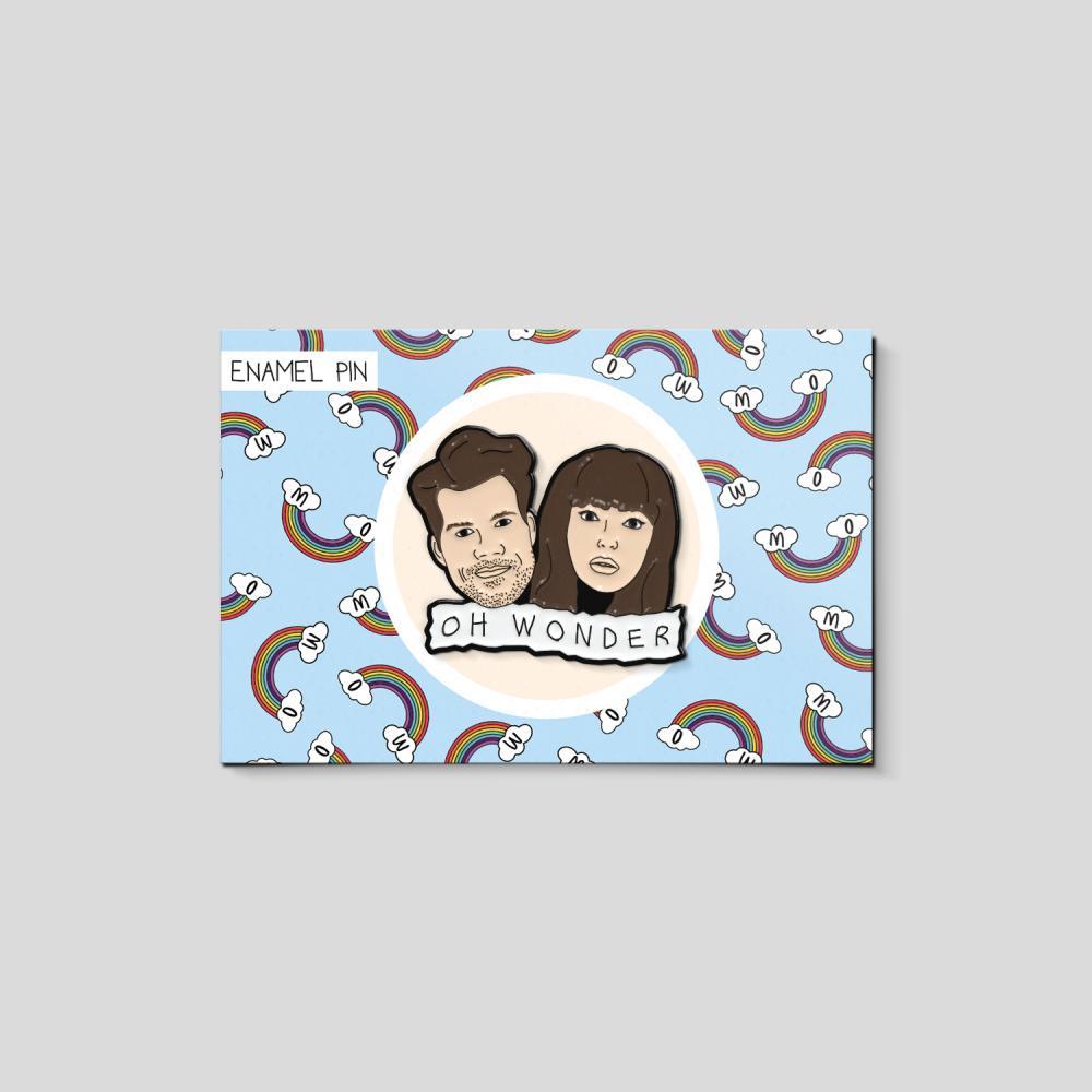 Buy Online Oh Wonder - Enamel Pin