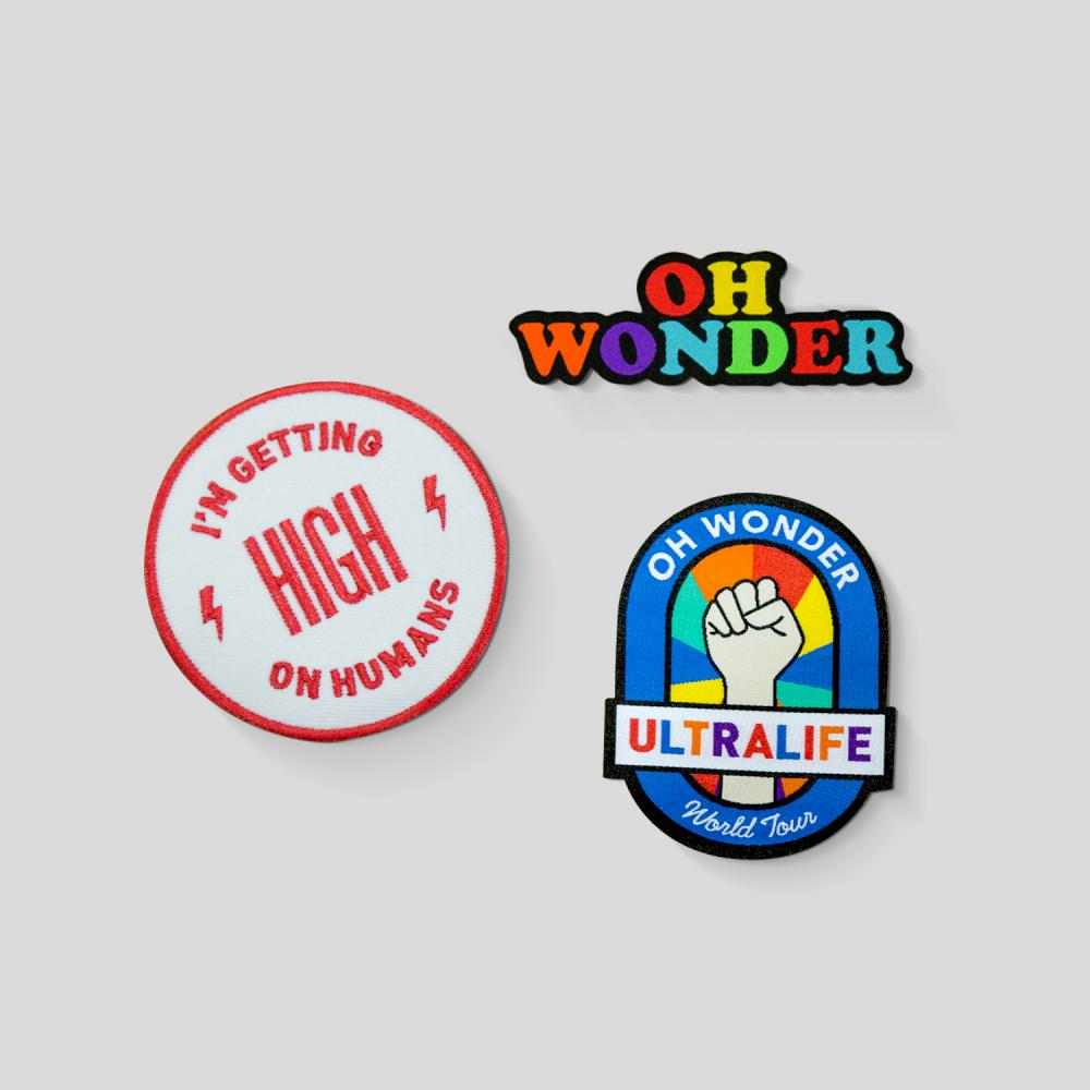 Buy Online Oh Wonder - Patch Set