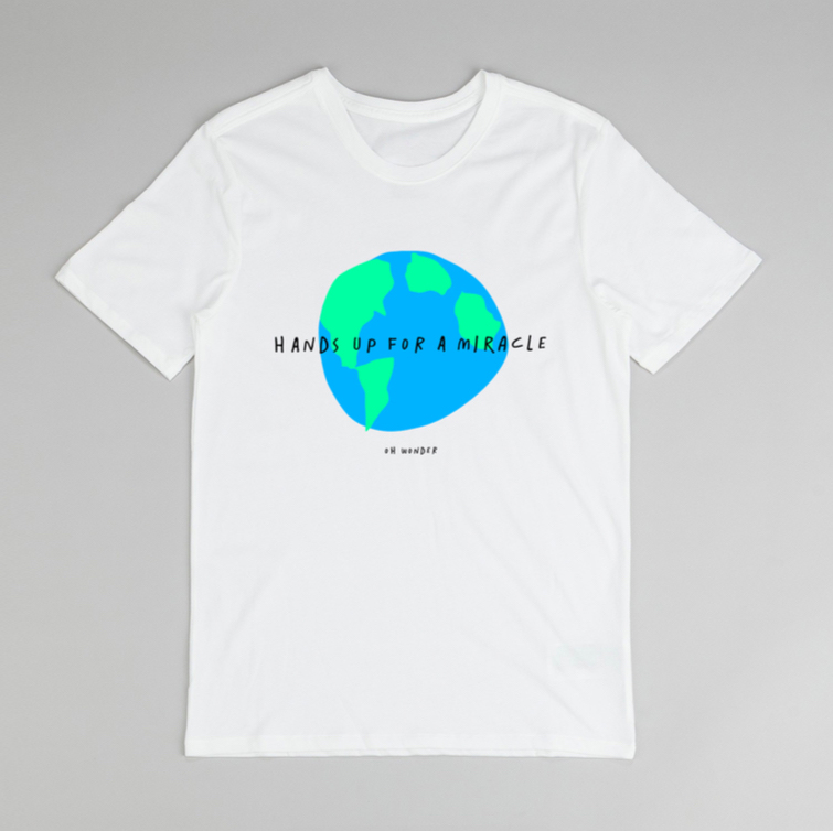 Buy Online Oh Wonder - Miracle T-Shirt