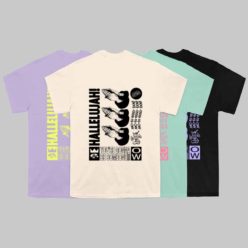 Buy Online Oh Wonder - Hallelujah T-Shirt
