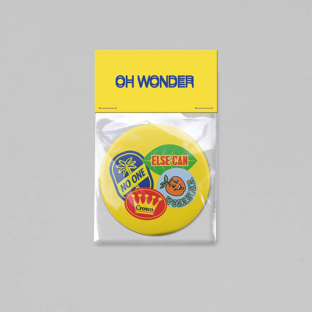 Buy Online Oh Wonder - Pocket Mirror