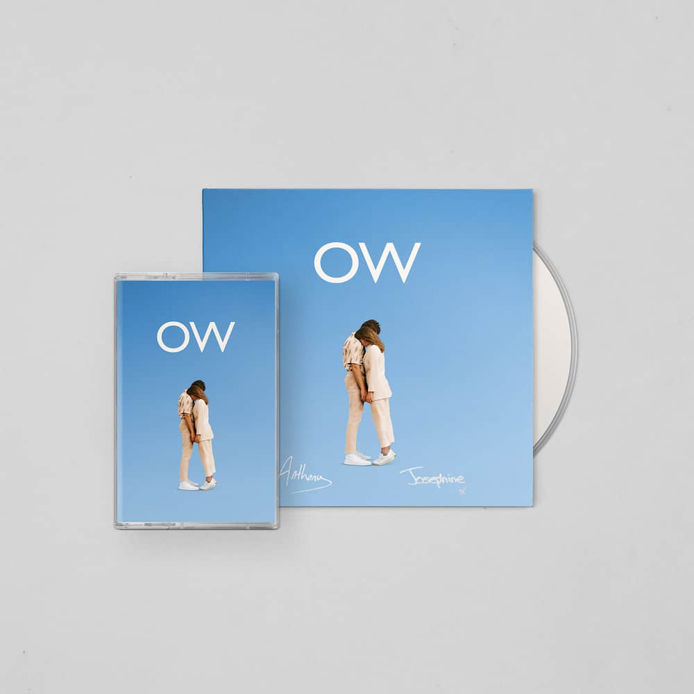 Buy Online Oh Wonder - No One Else Can Wear Your Crown Deluxe CD (Signed) + Cassette