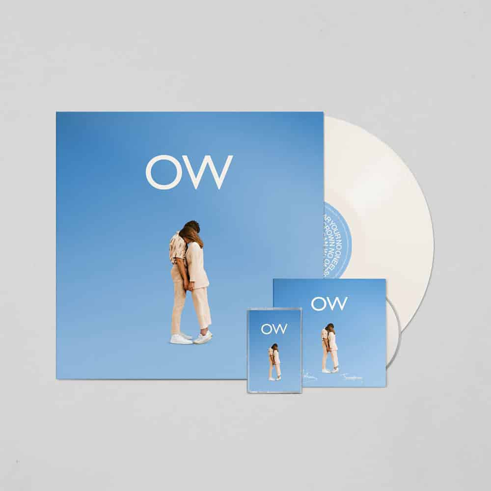 Buy Online Oh Wonder - No One Else Can Wear Your Crown Deluxe CD (Signed) + Exclusive White Vinyl (Signed) + Cassette
