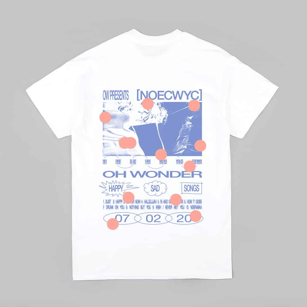 Buy Online Oh Wonder - No One Else Can Wear Your Crown T-Shirt