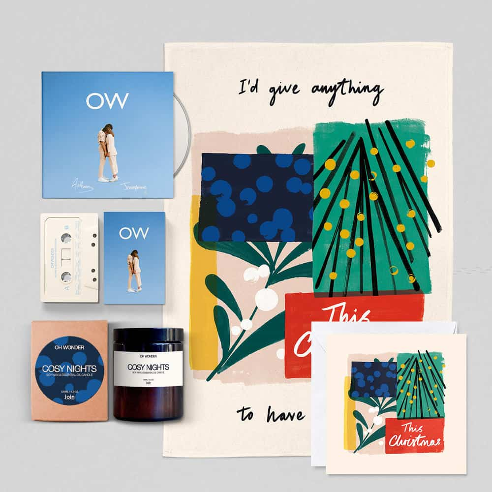 Buy Online Oh Wonder - 'This Christmas' Gift Set + Signed Deluxe CD + Cassette