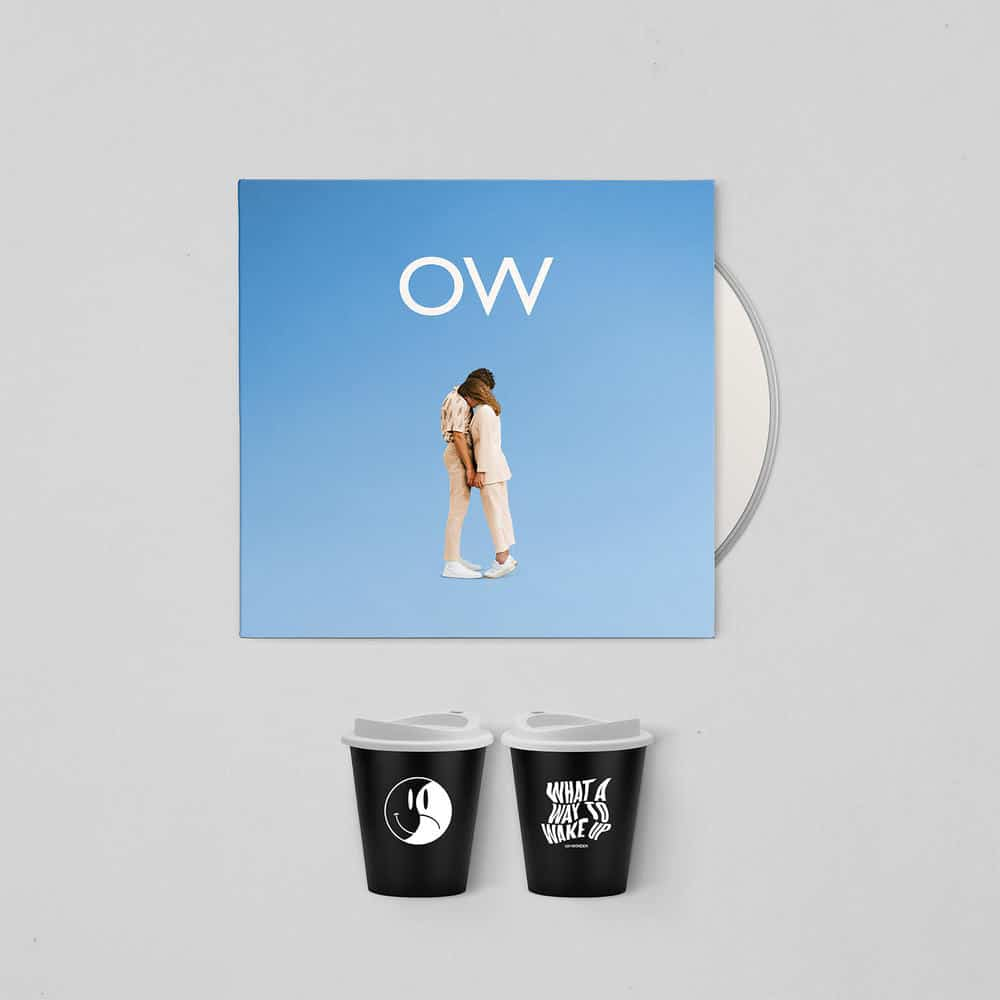 Buy Online Oh Wonder - No One Else Can Wear Your Crown Deluxe CD (Signed) + Travel Coffee Cup