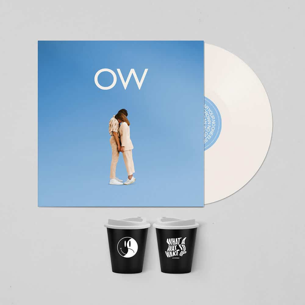 Buy Online Oh Wonder - No One Else Can Wear Your Crown Exclusive White Vinyl + Travel Coffee Cup