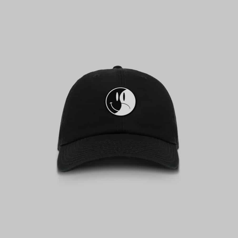 Buy Online Oh Wonder - Black Happy/Sad Cap