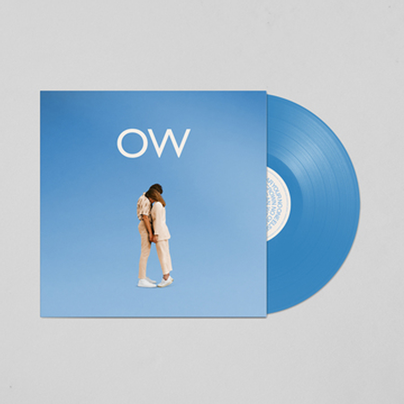 No One Else Can Wear Your Crown Blue Vinyl (Signed) LP