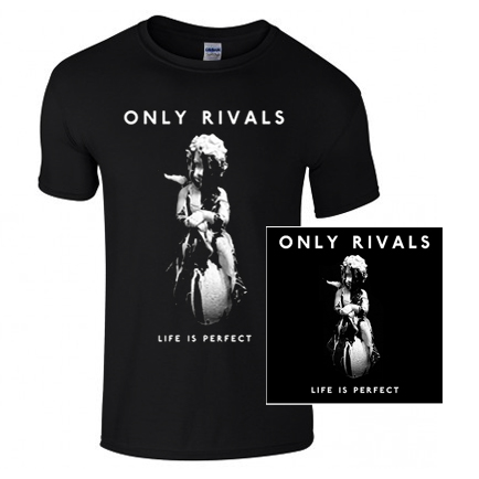 Buy Online Only Rivals - Signed Life Is Perfect 12-Inch Vinyl Album + Details EP + Exclusive T-Shirt