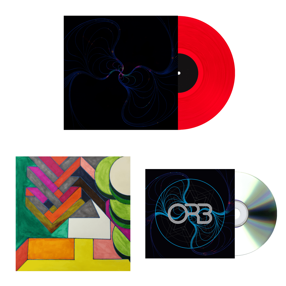 Buy Online The ORB - No Sounds Are Out Of Bounds Exclusive Coloured Vinyl LP + Exclusive Instrumental CD Album