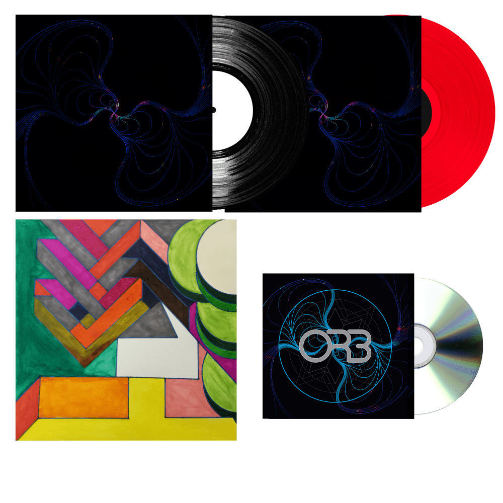 Buy Online The ORB - Vinyl Bundle inc Alex Paterson signed artwork print