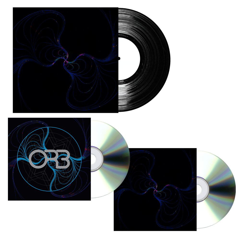 Buy Online The ORB - CD + Vinyl Bundle &  12 x 12