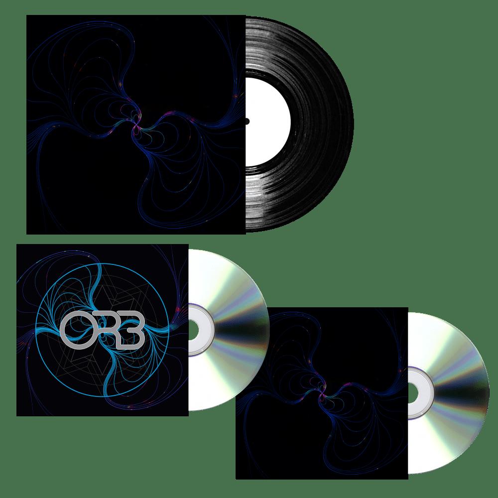 Buy Online The ORB - CD + Vinyl Bundle &  12 x 12 signed album artwork print