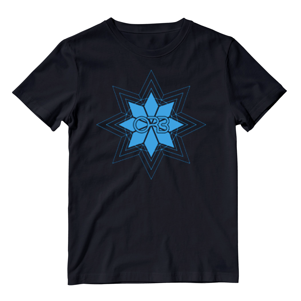 Buy Online The Orb - Blue Logo T-Shirt