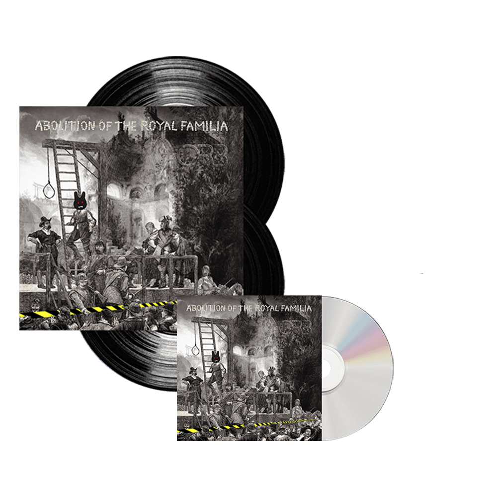 Buy Online The Orb - Abolition of The Royal Familia CD + Gatefold Double 180g Vinyl  + Abolition In Dub CD Bundle