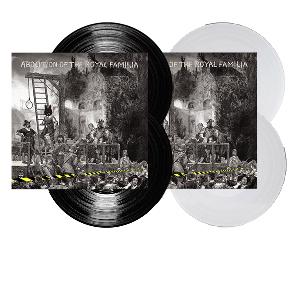 Buy Online The Orb - Abolition of The Royal Familia Gatefold Double 180g Vinyl + Gatefold Double 180g Clear Vinyl + Abolition In Dub CD + Signed 12 X 12 Album Art Print