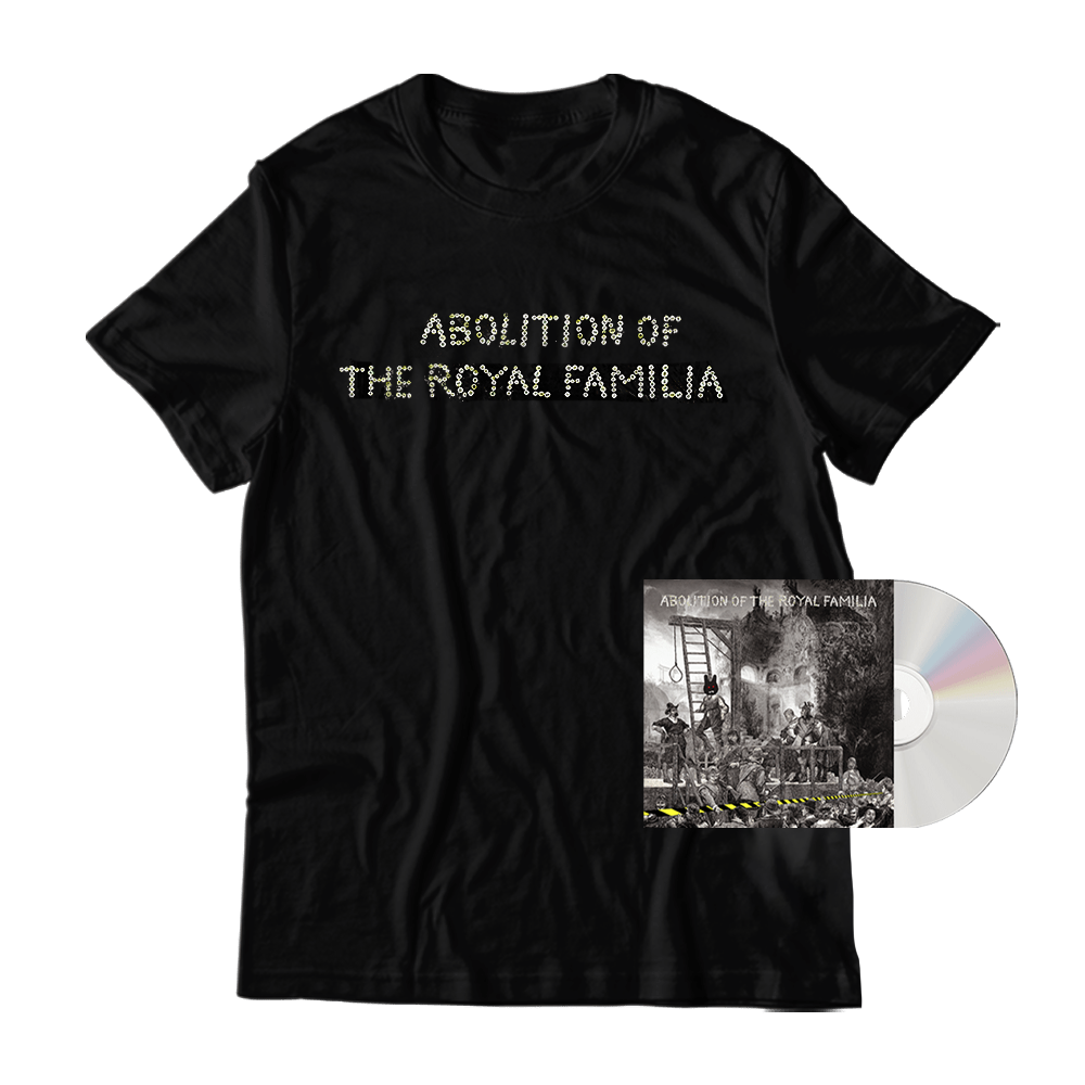 Buy Online The Orb - Abolition of The Royal Familia CD + Abolition In Dub CD + T-Shirt