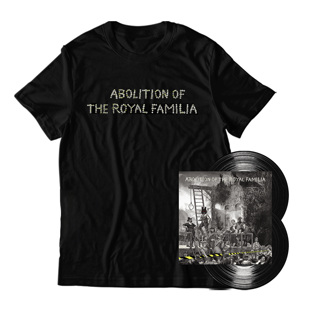 Buy Online The Orb - Abolition of The Royal Familia Gatefold Double 180g Vinyl + Abolition In Dub CD + T-Shirt