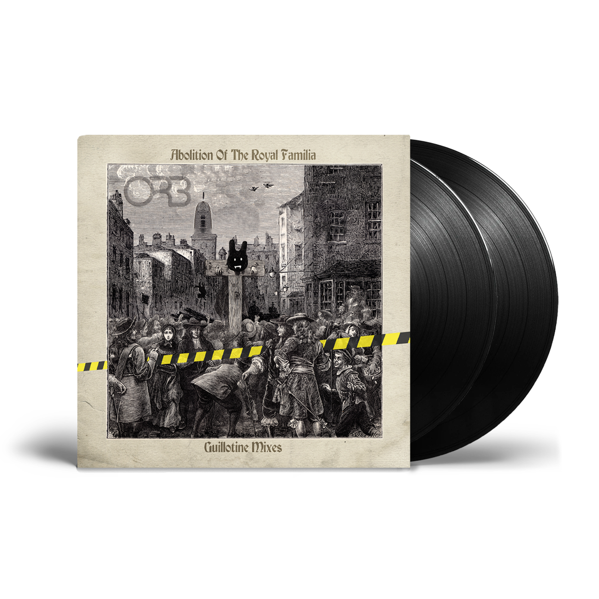 Buy Online The ORB - Abolition Of The Royal Familia - Guillotine Mixes Black Double Vinyl