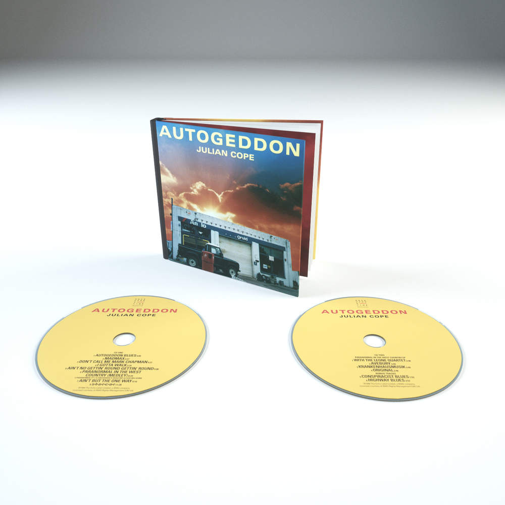Autogeddon 2CD Book