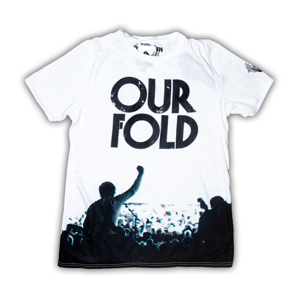 Buy Online Our Fold - Leeds/Reading T-Shirt (Includes Badges)