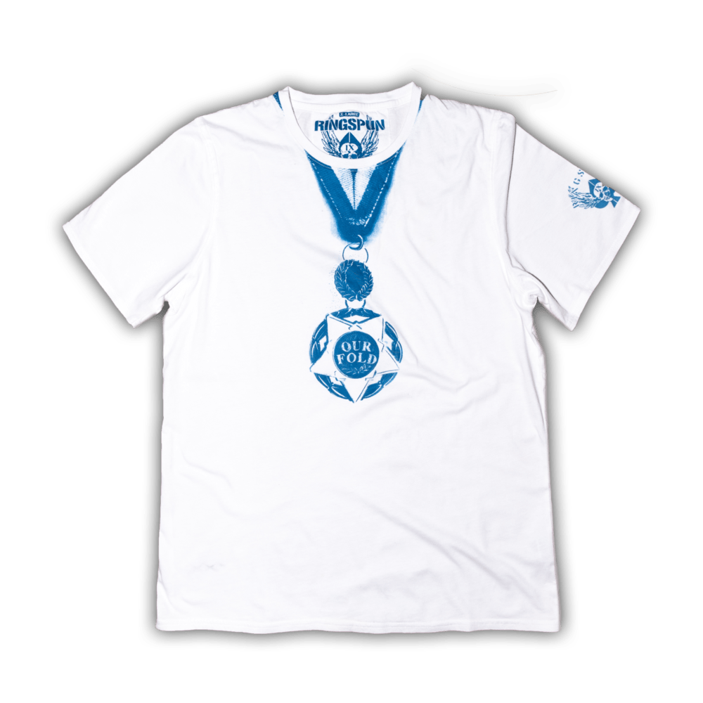 Buy Online Our Fold - Medal T-Shirt (Includes Badges)