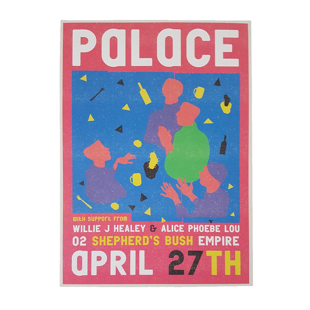 Buy Online Palace - O2 Shepherd's Bush Empire April 27th Print