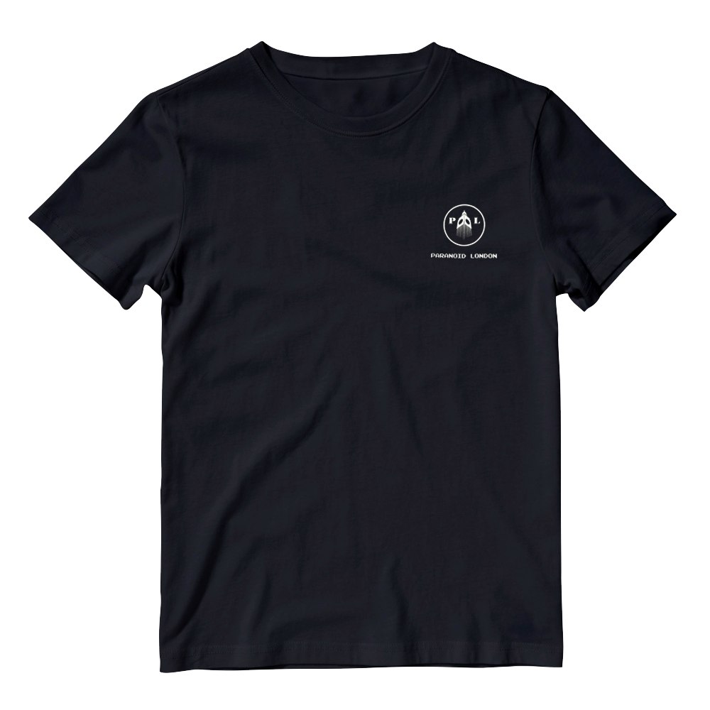 Buy Online Paranoid London - Black Logo T-Shirt