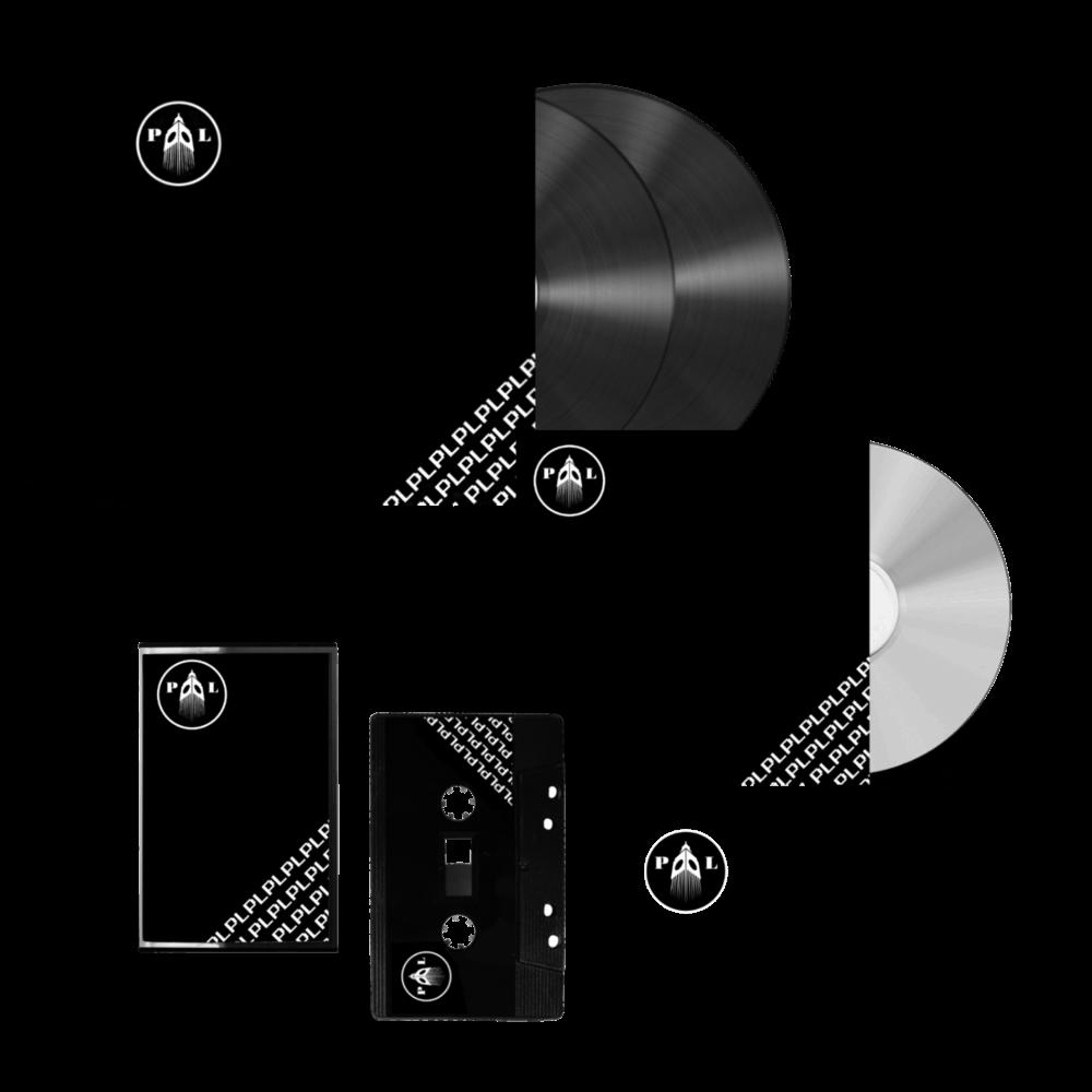 Buy Online Paranoid London - PL CD + Double Vinyl + Cassette (Includes Pin)