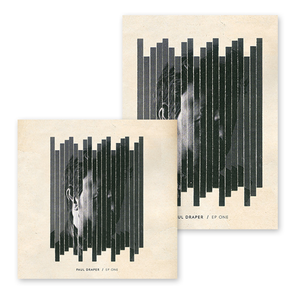 Buy Online Paul Draper - EP ONE White 12-Inch Heavy Vinyl + Signed A3 Art Print
