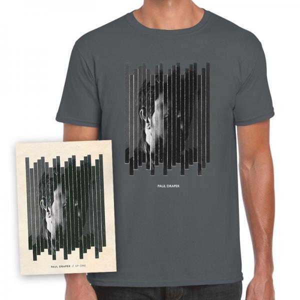 Buy Online Paul Draper - EP ONE Artwork T-Shirt + Signed A3 Art Print