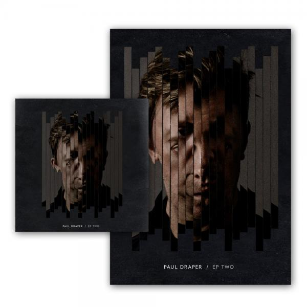 Buy Online Paul Draper - EP TWO Clear 12-Inch Heavy Vinyl + Signed A3 Art Print