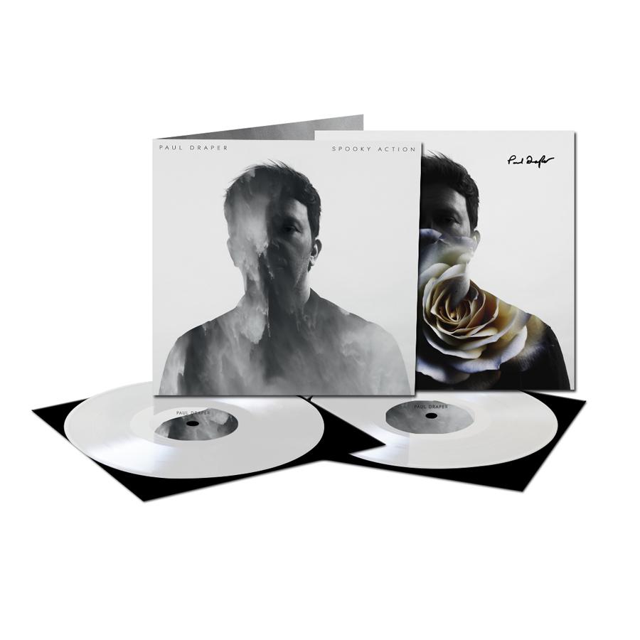 Buy Online Paul Draper - Spooky Action Ltd Edition Heavyweight 2LP (Exclusive White Vinyl) + Limited Signed Art Print