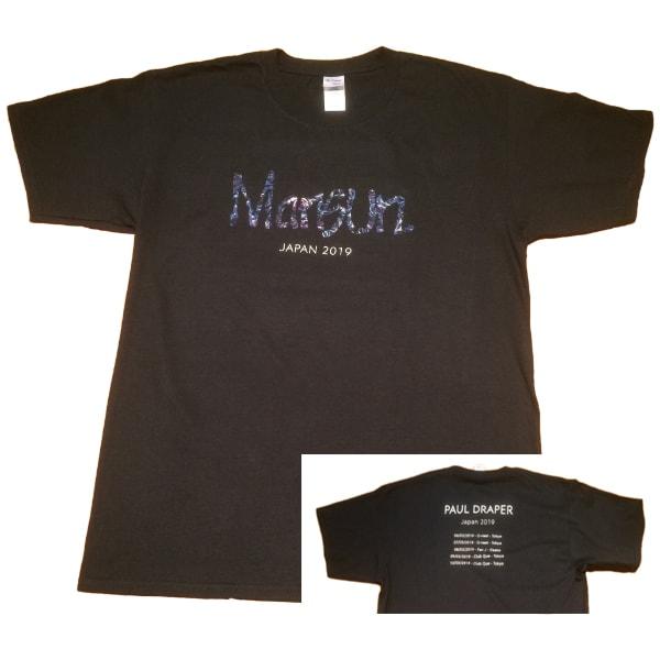 Buy Online Paul Draper - Live In Japan 2019 Black T-Shirt